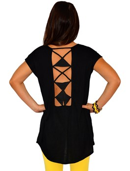 Back Cut Out Detail Top