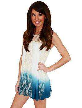 Crochet Ombre Dress