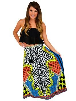 Leopard & Aztec Maxi Skirts