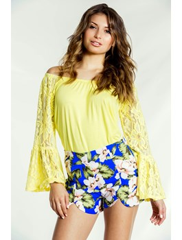 Tropical Flower Shorts