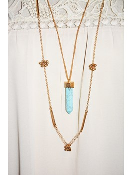 Layered Rock Necklace