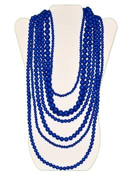 Multi Row Beaded Necklace