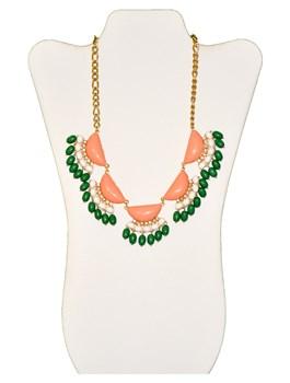 Fan Beaded Necklaces